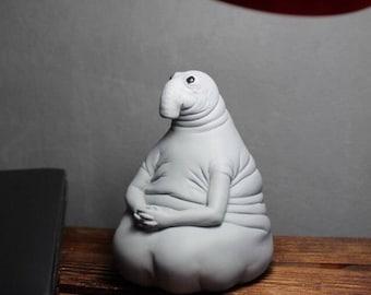 Zhdun Piggy/Money Bank. Homunculus Loxodontus. Snorp Sculpture. Ждун копилка.