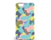 Hull Camouflage | PVC | iPhone 4, 4s, 5, 5S, SE, 5 c, 6, 6, 6 Plus, 6s, 7 and 7 more, illustration, design, camo, pop, artmars, art