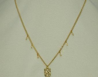 Golden Arrow Necklace #78