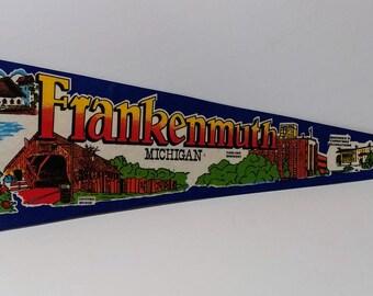 Frankenmuth, Michigan - Vintage Pennant