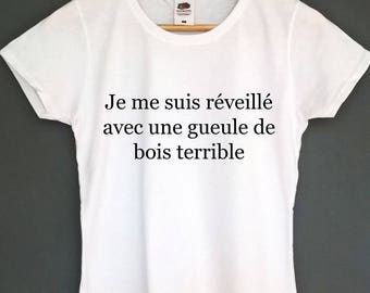 French t shirt french tshirt french shirt french top tee french saying hungover french tshirt hungover shirt french french hangover t gifts