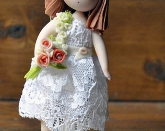 Cleide, cold porcelain doll, art doll, cold porcelain doll