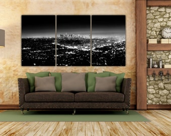 Los Angeles Wall Art la art | etsy