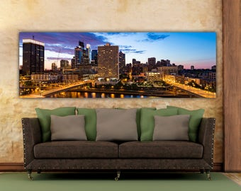 Philadelphia, Philadelphia skyline, philly waterfront,  Philadelphia sunset, Philadelphia Pa Art, Philadelphia Canvas, Philadelphia Photo,