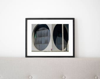 Circles // Poster, Photography, Berlin, Architecture, Concrete, Picture, Raw, Print, Wall Decor, Home Decor, Minimal, Landscape, Unique,