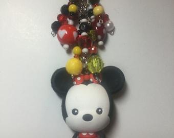 Minnie Mouse purse charm