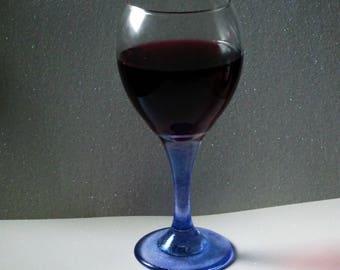 Stem Painted Wine Glass