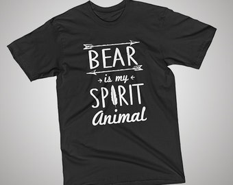 Bear Spirit Animal T-Shirt