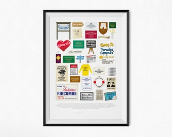 Carry On Films - Alternative Film Poster - Art Print
