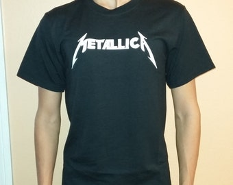 METALICA T-shirt 100 % Cotton and 1 stisker Free