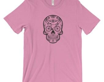 Bike T-shirt | Skull T-shirt | Women's Tshirt