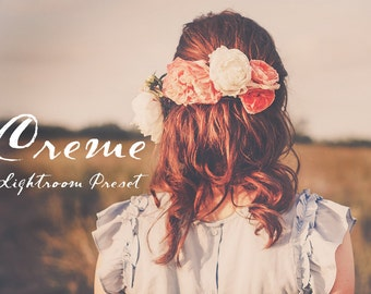 Creme Soft Cream Matte Lightroom Preset Professional Photo Editing for Portraits, Newborns, Weddings By LouMarksPhoto