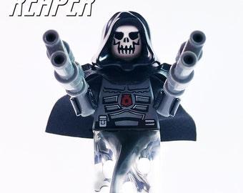 Lego® Overwatch Reaper Custom Minifigure