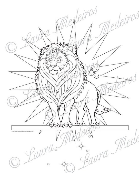 Leo pages coloring pages for Leo coloring pages