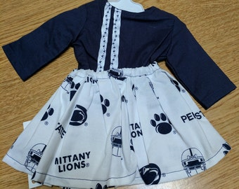 """Penn State Nittany Lions Cheerleading 18"""" Doll Clothes"""