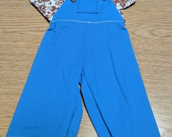 Shirt and Coveralls for Cabbage Patch Doll