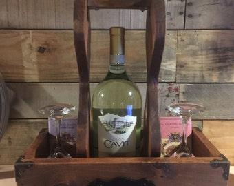Custom made Wine Caddy