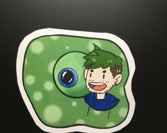 Jacksepticeye Bubble Sticker