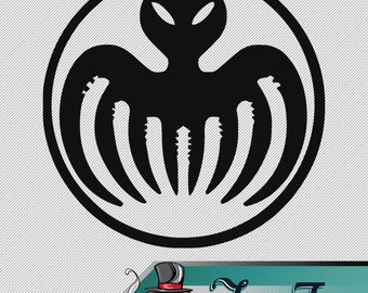 Vinyl Decal- James Bond Spectre Logo