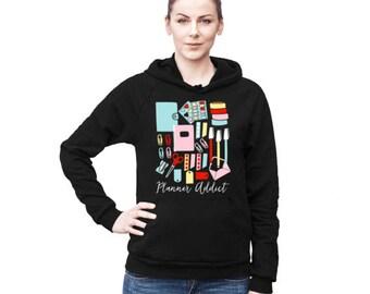 Nerd Hoodie, Black Hoodie, American Apparel Hoodie, Cute Hoodie, Gifts for Nerds, Printed Hoodie, Tumblr Hoodie, Tumblr Sweatshirts,