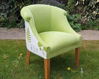 Lime Green Tub Chair