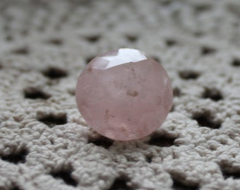 Rose quartz, faceted crystals, faceted gems, crystals, jewelry making, minerals, gemstones, jewelry, quartz