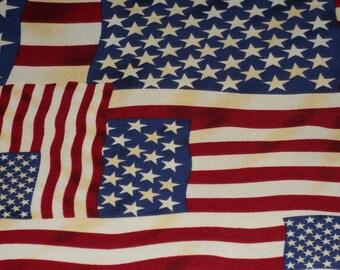 Antique Tea Dye Flags By Hoffman International Fabrics