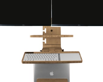 The DaVinci Wall Mounted Standing Desk