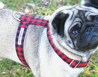 Regular harness, you can choose any fabric!, dog harness, fabric dog harness, custom dog harness, nylon dog harness, cotton dog harness