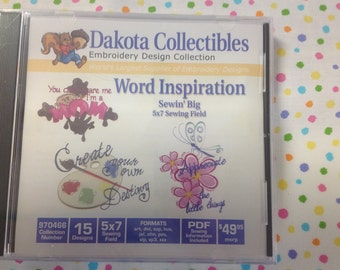 Dakota Collectibles Word Inspiration Embroidery CD