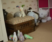 toy box storage bench personalised toy box footrest toy storage box kids padded seat storage crate seat bench storage seat
