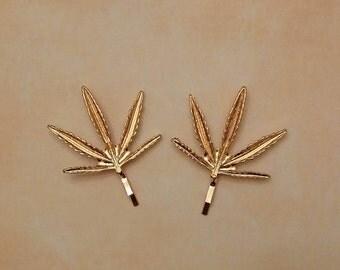 Golden leaves forks