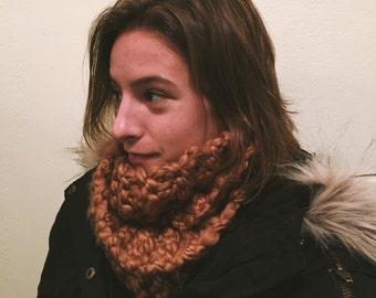 Handmade Chunky Knitted Infinity Scarf