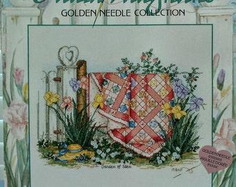 Paula Vaughan's Counted Cross Stitch Garden of Eden Golden Needle Collection #113980