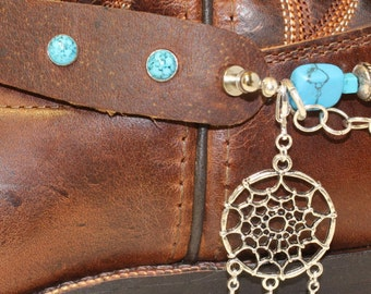 Texas Trail Rider-Boot Bling,Jewelry, Bracelet,Anklet, Shoe Accessories,Boot Chain,Charms