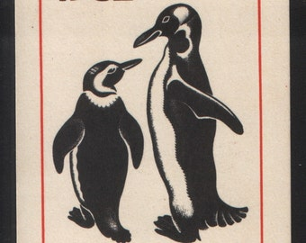 Penguin Art vintage pocket calendar from the 1982 USSR (1)
