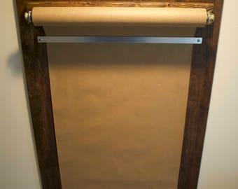 Rustic Wood Memo Board | Message Center | Note Pad | Bulletin Board |  Kitchen Organizer