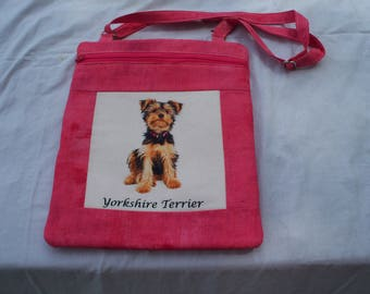 Yorkie-Dog Breed Cross Body Bag