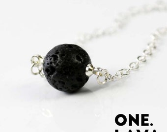 One Lava Necklace