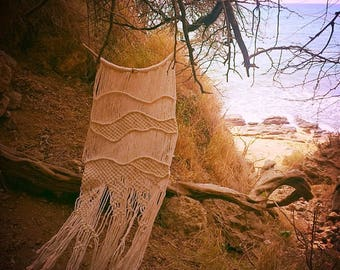 """Macrame wall hanging """"Shattered"""""""