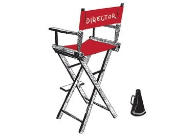 The Director's Chair - Unsigned