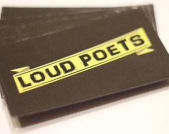 Loud Poets Magnet