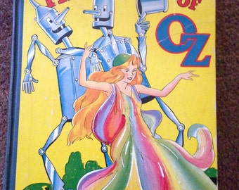 The Tin Woodman of OZ, by L. Frank Baum, Reilly Publishers 1918