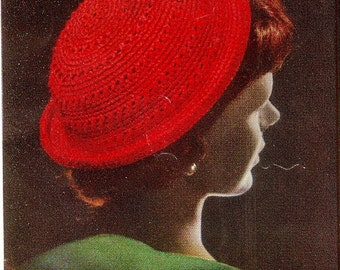 Vintage Brim Hat Crochet Pattern