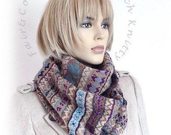 Patroon Fair&Co© by Dutch Knitty   Fair Isle shawl