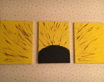 Sunflower 3 canvas art