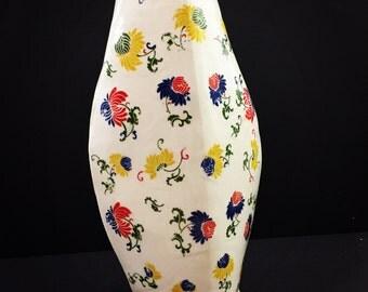 Handmade ceramic porcelain vase
