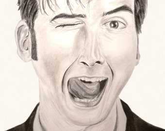 Tenth Doctor Wink