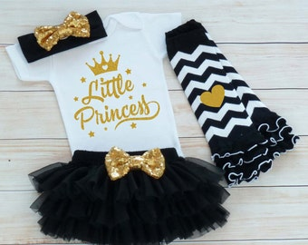 Little Princess Outfit, Baby Coming Home Shirt, Coming Home Baby Girl Outfit, Baby Girl Coming Home Outfit, Baby Shower Gift, Infant Outfit