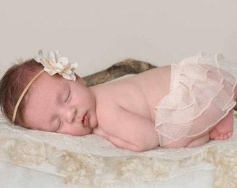ivory ruffle skirt digital overlay, digital skirt, digital prop newborn girl